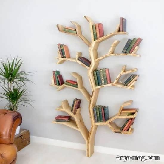 طرح دکوری چوبی