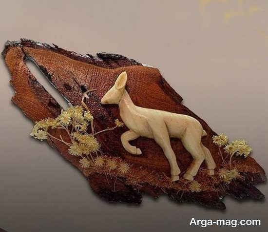 مدل جذاب دکوری چوبی