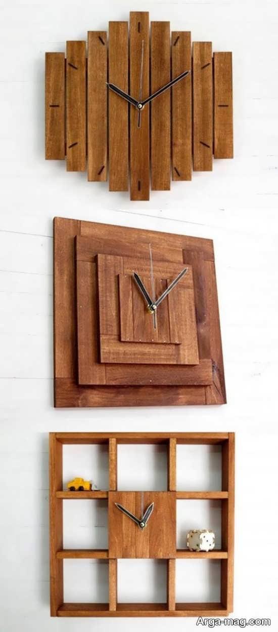 طرح دیدنی دکوری چوبی