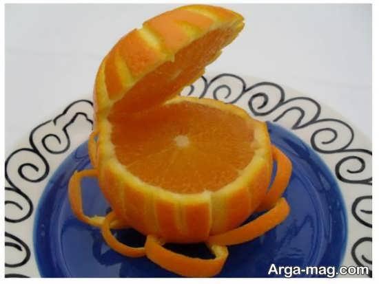 تزئینی زیبا از پرتقال شب چله