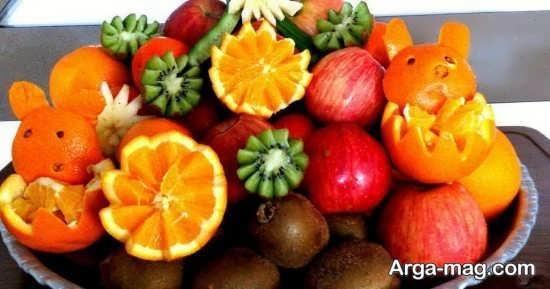 تزیینات پرتقال شب یلدا
