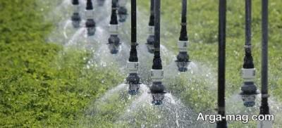 راه اندازی آبیاری جدید زیر سطحی