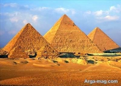 اطلاعاتی درباره اهرام ثلاثه مصر