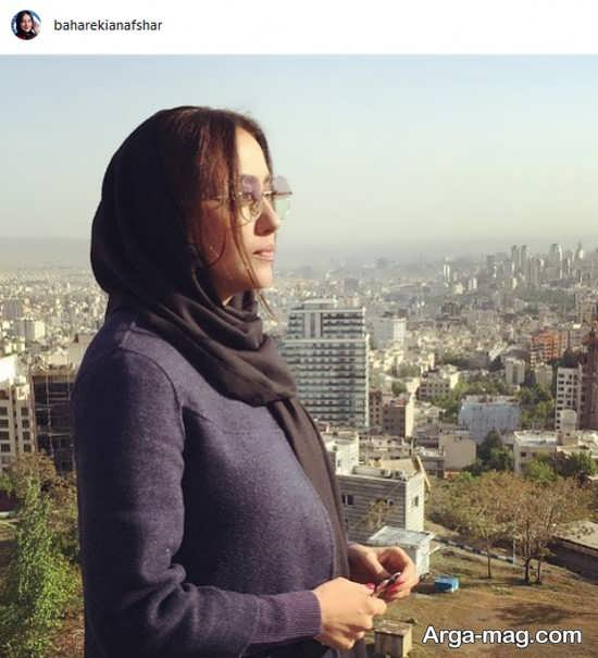فیس زیبای بهاره کیان افشار