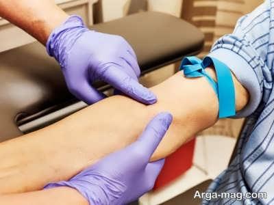 تشخیص غلظت خون