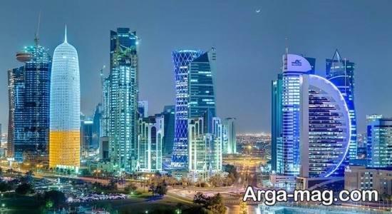 مناطق شناخته شده قطر