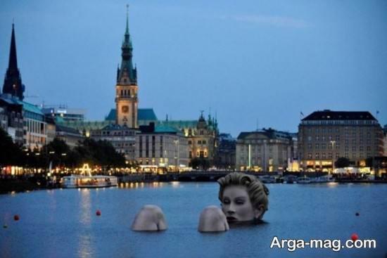 دریاچه معروف هامبورگ