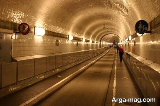 تونل زیبای هامبورگ
