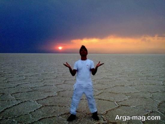 گرفتن عکس هنری در کویر
