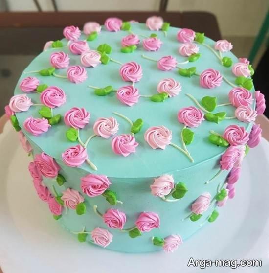 کیک تولد فانتزی برای خانم ها