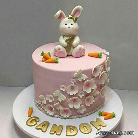 کیک تولد زن
