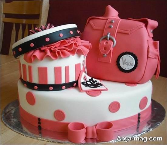 تزیینات کیک تولد زنانه