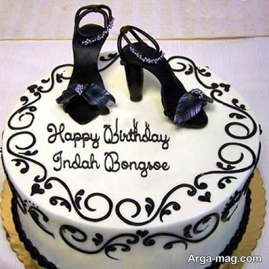 کیک تولد متفاوت زنانه