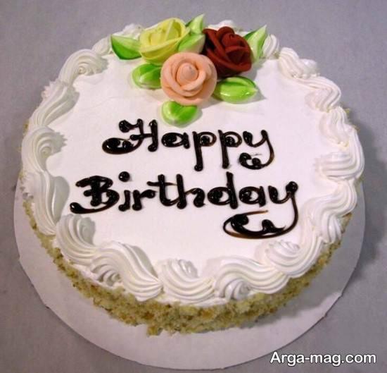 ایده به روز تزیین کردن کیک تولد خانم