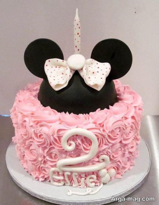 تزیین کیک عروسکی برای زن