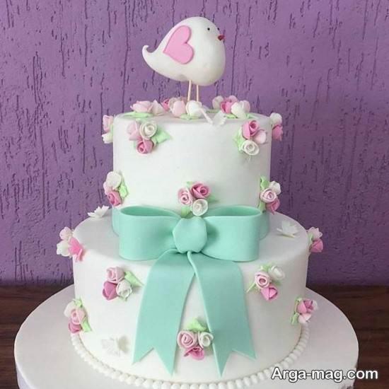 تزینات منحصر به فرد کیک تولد زن