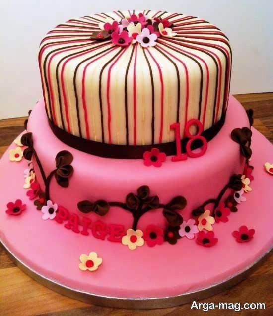 تزیین کیک مخصوص خانم ها