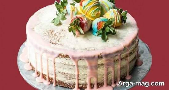 تزیین کیک تولد زنانه مخصوص