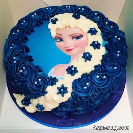 تزیین نمودن کیک زنانه