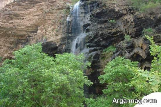 آبشار بلند و دیدنی خراسان رضوی