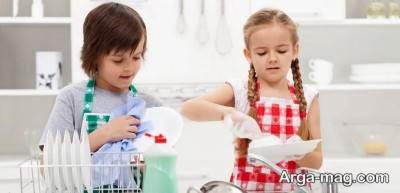 پذیرش مسؤلیت کودکان