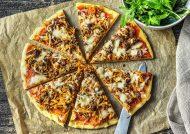 طرز تهیه پیتزا گوشت و پیاز