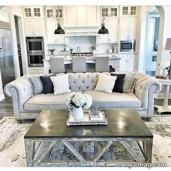 17 Best Ideas About Kitchen Living Rooms On Pinterest: مدل مبل کلاسیک راحتی با طراحی ساده اما جذاب و شیک