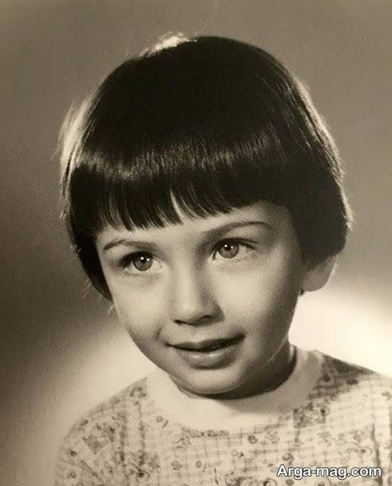 پارسا پیروزفر در سن 2 سالگی