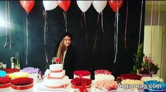 سحر قریشی با رنگ موهای مسی خانم بازیگر در شب جشن تولد با موهای باز! - آرچ کالا - مجله ...