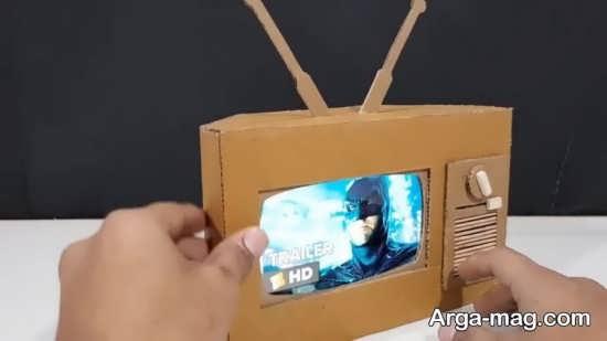کاردستی متفاوت وجالب تلویزیون