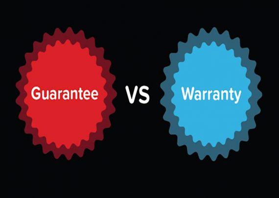 تفاوت گارانتی و وارانتی