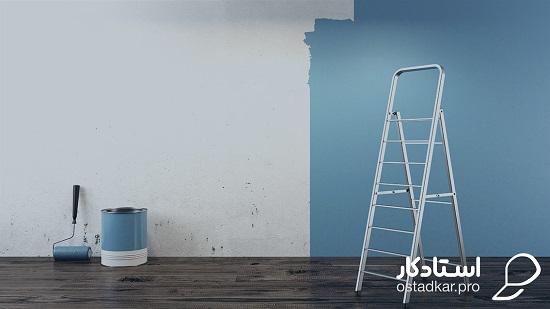 نقاشی ساختمان