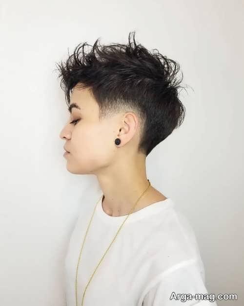 مدل موی کوتاه دخترانه 2019