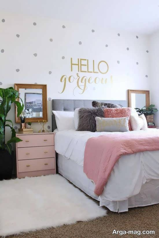 اتاق خواب زیبای دخترانه برای 2019