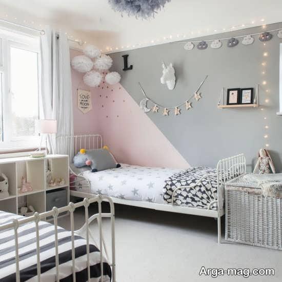 دکوراسیون اتاق خواب دخترانه ۲۰۱۹ با چند طراحی جذاب
