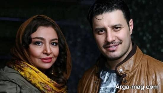 عکس متفاوت جواد عزتی و همسرش
