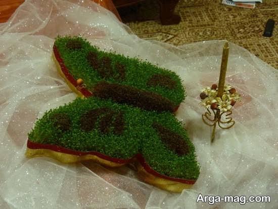 دکوراسیون سبزه عروس