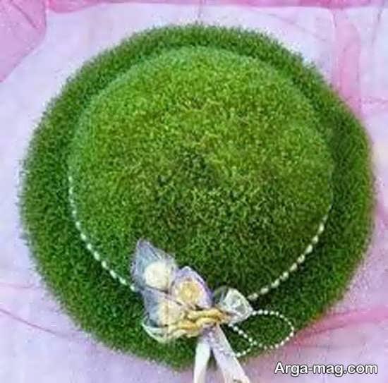 تزیین سبزه برای عروس