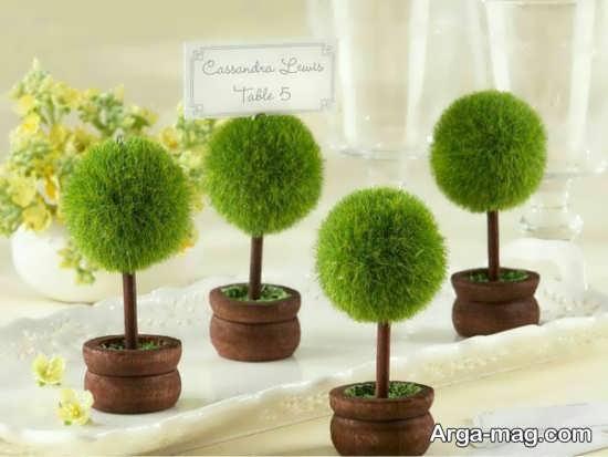 تزیین زیبا سبزه عروس