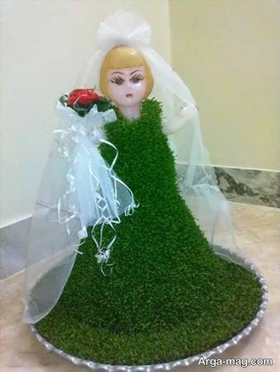 تزیین جالب سبزه عروس