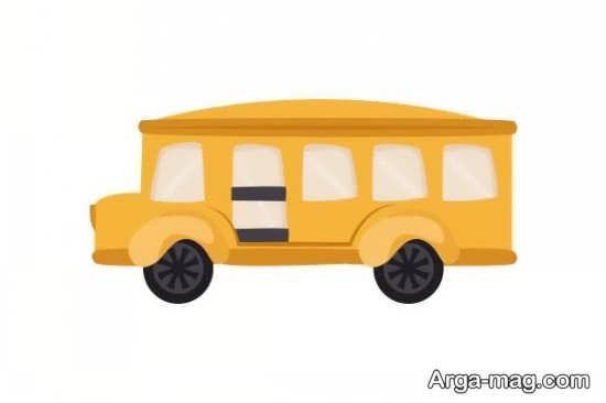 ساخت کاردستی اتوبوس