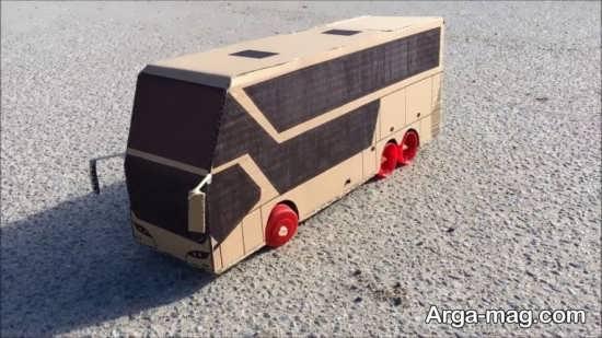 ساخت اتوبوس با وسایل ساده