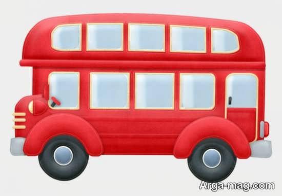 کاردستی اتوبوس دو طبقه