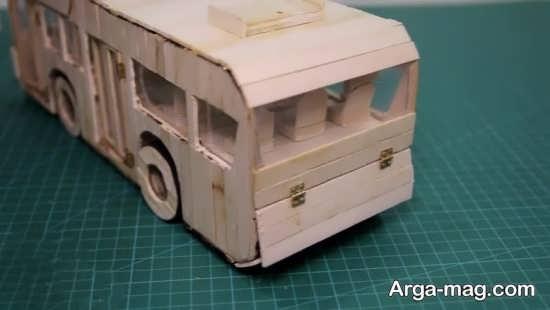 ساخت اتوبوس زیبا با وسایل دور ریختی