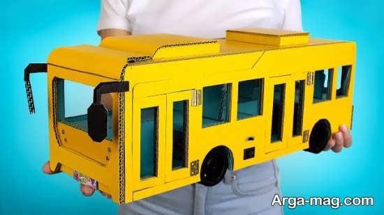 آموزش ساخت اتوبوس با طرحی زیبا