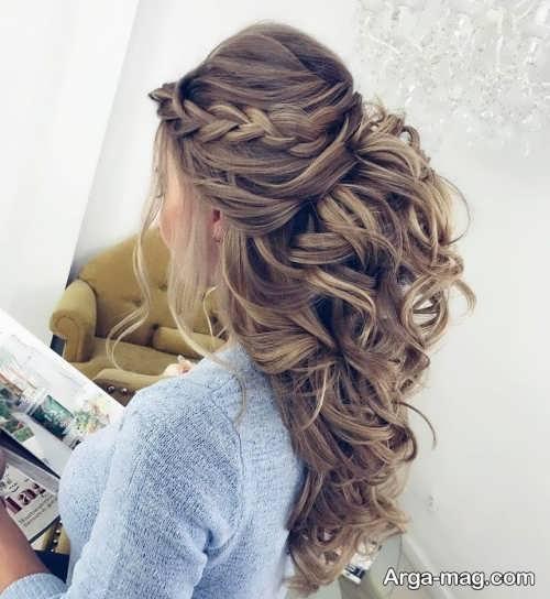 مدل آرایش موی باز و زیبا