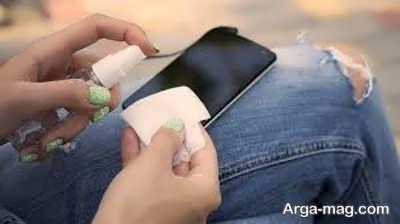 تمیز کردن گوشی با استفاده از روش های مختلف و کم هزینه
