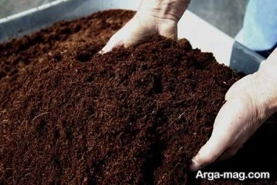 طرز استفاده از خاک کوکوپیت