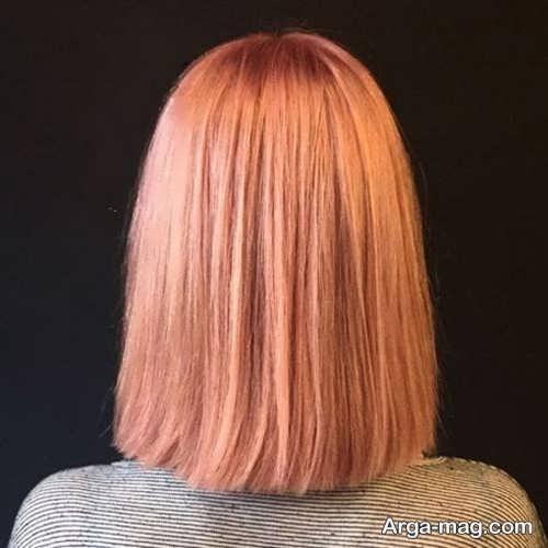 رنگ مو مرجانی 98