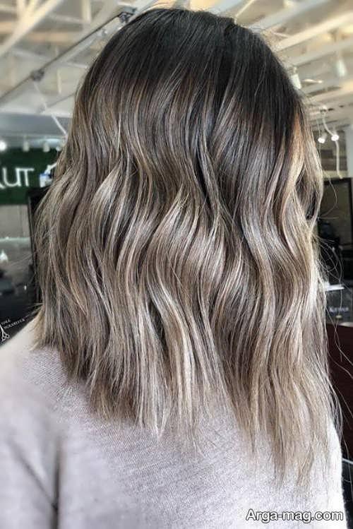 رنگ موی جذاب